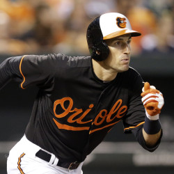 Ryan Flaherty played left field on Saturday, the latest example of the versatility that has added to his value with the Baltimore Orioles.