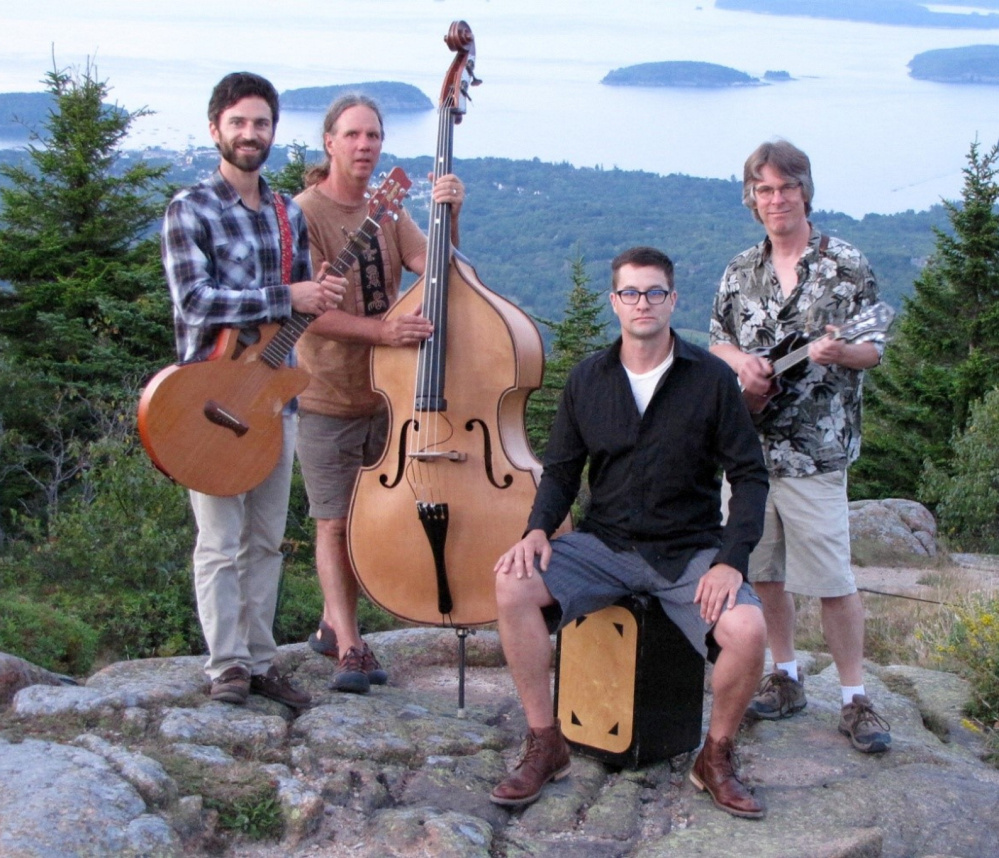 The Blake Russo Band will perform Saturday at the Darrow's Hay Barn at Round Top Farm in Damariscotta.