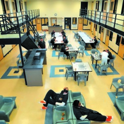 Unlike some crowded jails, the Somerset County jail has room to spare.  2015 Morning Sentinel file photo/Michael G. Seamans
