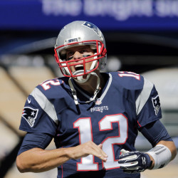New England Patriots quarterback Tom Brady, looking fierce before trouncing the Jacksonville Jaguars on Sunday, clarified his comments about Donald Trump on Tuesday.