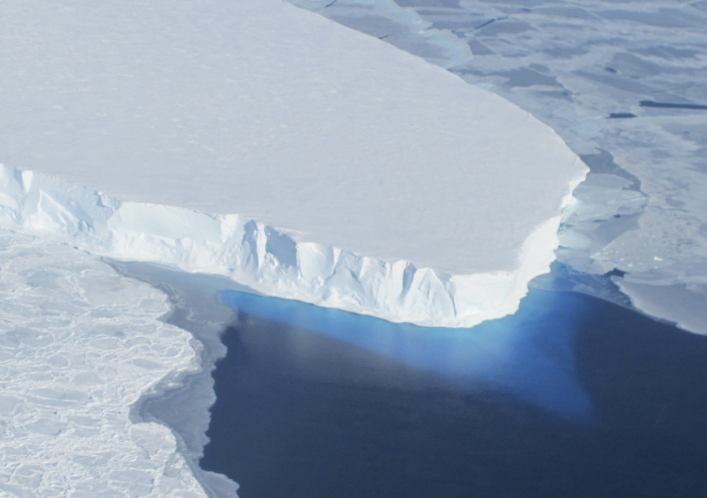 Considered a wild card in ice loss from central West Antarctica, the Thwaites Glacier is considered a top priority for studies of the effects of ice melt.