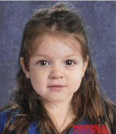 A computer-generated composite image depicting the possible likeness of Bella Bond was released in July as officials sought help in identifying her.