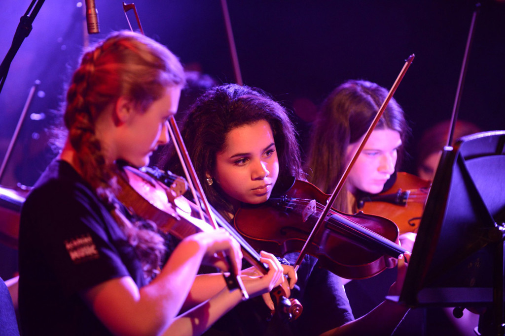 Maine Academy of  Modern Music's Maine Youth Rock Orchestra will perform during the organization's open house.