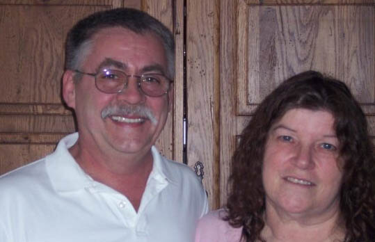Patrick and Jeanine Vaillancourt, who were killed Monday, were devoted to their maroon Harley-Davidson three-wheeler. Family photo