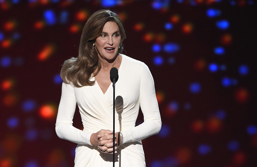 Caitlyn Jenner accepts the Arthur Ashe award for courage in July at the ESPY Awards in Los Angeles. The February crash that killed Kim Howe has shadowed the intense news coverage of Jenner's recent transgender transition.  The Associated Press