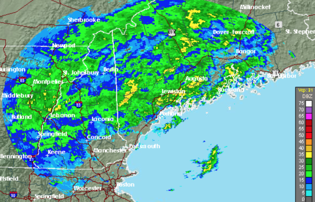 'Torrential' rainfall forecast for Maine today - The ...