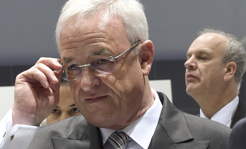 In Martin Winterkorn's favor is his track record of boosting deliveries 77 percent and catapulting Volkswagen to outselling Toyota for the the No. 1 spot globally in the first half of 2015. Reuters