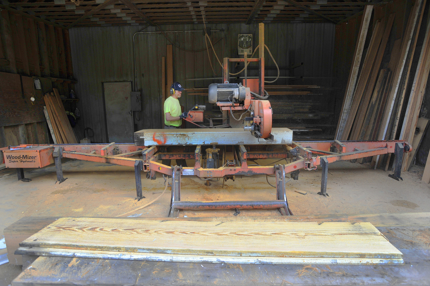 Reclaiming wood the portland press herald maine sunday for Reclaimed wood portland or