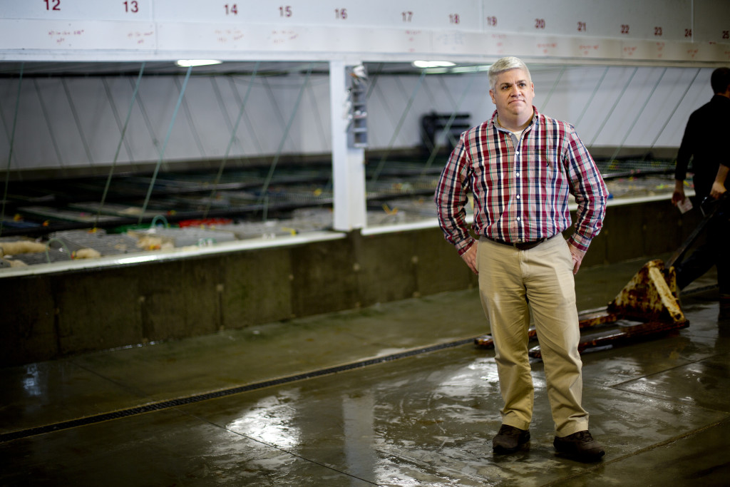 Lyle Brown of Maine Coast Seafood in York will be part of the Maine trade delegation to Asia. Brown used to live and work in China and speaks Mandarin, the country's official dialect. Gabe Souza/Staff Photographer
