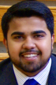 Muhammad Khan, candidate for Gorham Council