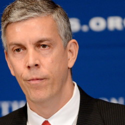 U.S. Secretary of Education Arne Duncan is stepping down after seven years.