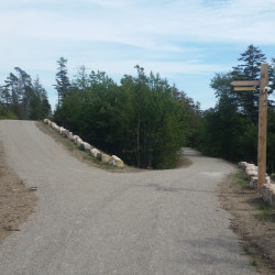 Whichever way you choose, you're certain to have a nice bicycle ride on these trails near the newly opened Schoodic Woods Campground in Acadia National Park.