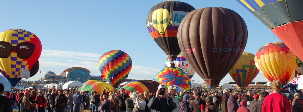 The Albuquerque International Balloon Fiesta is one of the most photographed events in the world, organizers say.