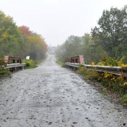 Hilton Bridge, on Red Bridge Road at the town boundary separating Canaan and Skowhegan, will be closed for a week  this month for repairs.