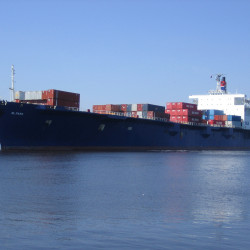 The 790-foot cargo ship El Faro was en route to Puerto Rico when it ran into Hurricane Joaquin last week. In its final message Thursday morning, the crew reported the vessel had taken on water and was listing 15 degrees. The ship, captained by Michael Davidson of Windham, had three other Mainers aboard.