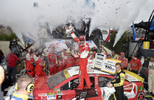 Kevin Harvick needed a victory Sunday to advance in the Chase for the Sprint Cup and he dominated the race in Dover, Del., to make the second round.