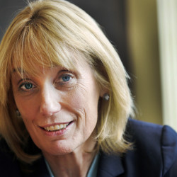 Gov. Maggie Hassan, D-N.H., on Monday announced her campaign to challenge Republican Sen. Kelly Ayotte.