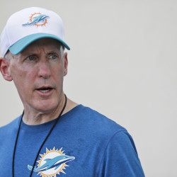 Miami Dolphins head coach Joe Philbin's job has been in jeopardy since a rocky 2013 season that included a bullying scandal and a meltdown in the final two games that cost Miami a playoff berth.
