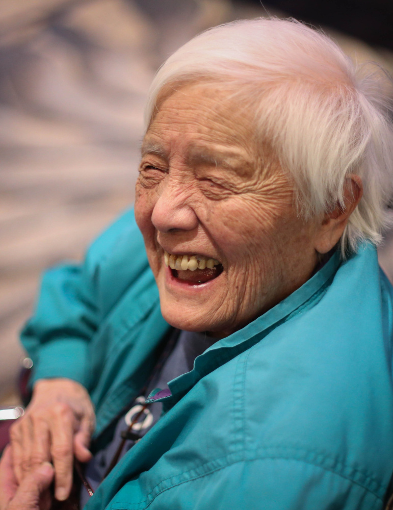 In her 2011 book, Grace Lee Boggs wrote that she was lucky to have taken part in historic changes in the U.S.
