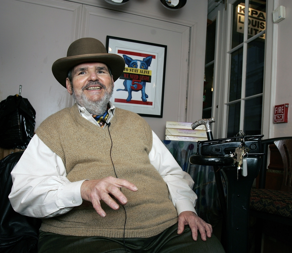 Chef Paul Prudhomme, the Cajun who popularized spicy Louisiana cuisine, died Thursday. He was 75.