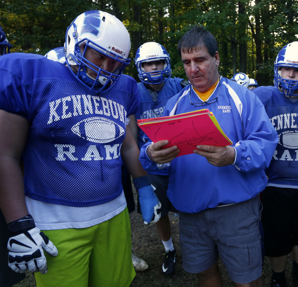 Coach Joe Rafferty has contributed to the Kennebunk team bonding, not just with a preseason camp but with Thursday morning pancake breakfasts.
