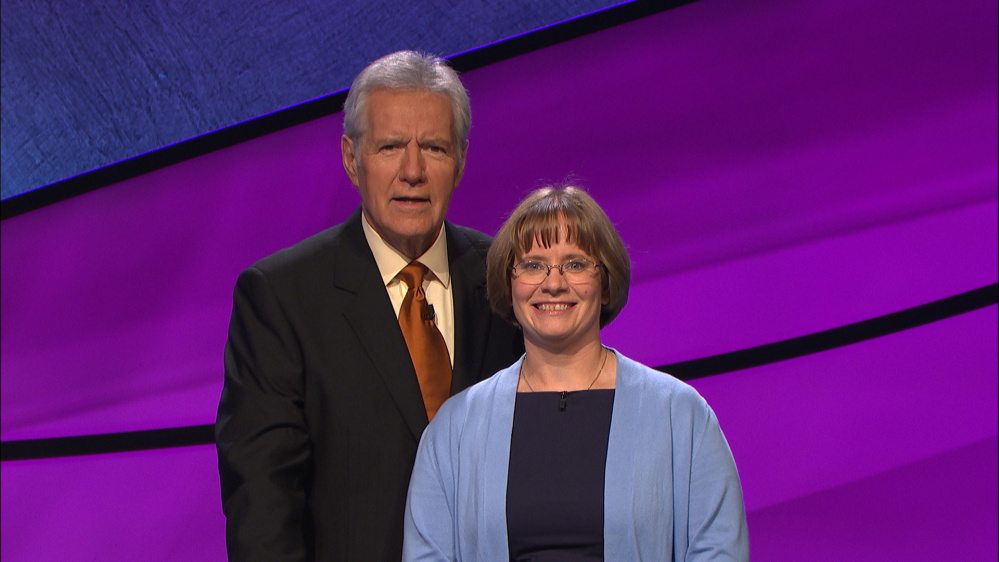 "Jennifer Robinson of Windham will appear on ""Jeopardy,"" hosted by Alex Trebek."