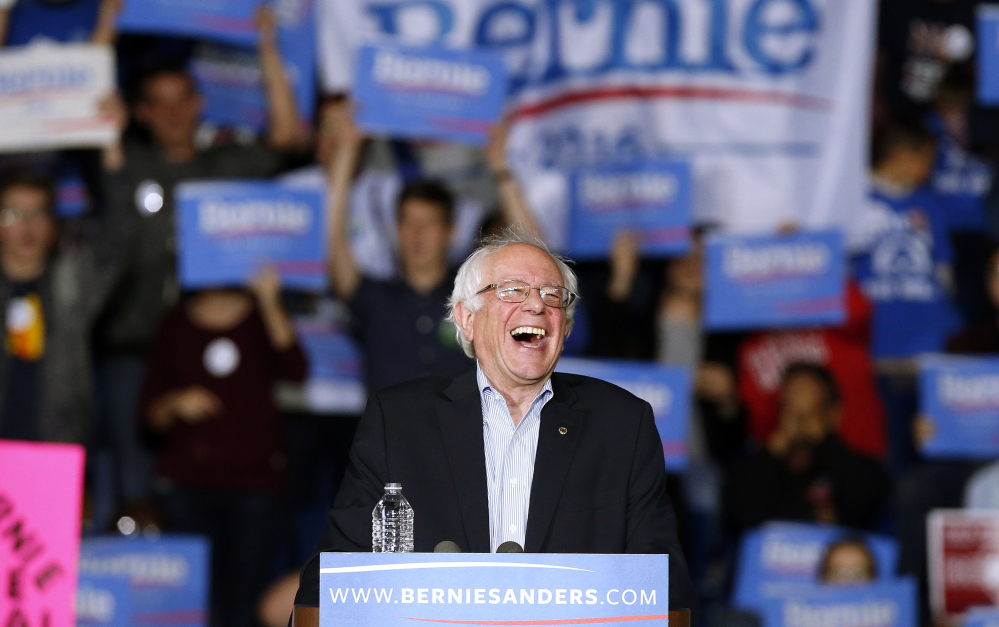 Democratic presidential candidate, Sen. Bernie Sanders, I-Vt,  has helped to rapidly expand a populist alternative to the tea party, but on the left.