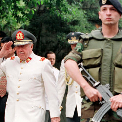 "Chilean Gen. Augusto Pinochet, left, is linked to ""perhaps the only clear case of state supported terrorism that has occurred in Washington, D.C.,"" a declassified memo says."