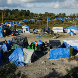 In the port city of Calais, France, asylum seekers and other migrants are housed in tents. The cauldron of poverty, disease, violence and frustrated ambition is boiling over into violence.