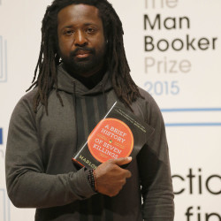 "Author Marlon James was awarded the 2015 Man Booker Prize for Fiction for his ""A Brief History of Seven Killings"" on Tuesday in London."