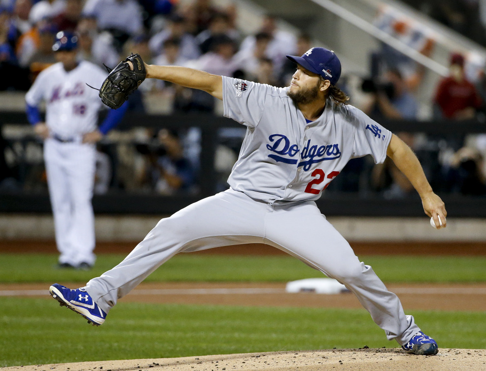 Dodgers starter Clayton Kershaw gave up just one run on three hits in seven innings to beat the Mets in a game the Dodgers had to win.