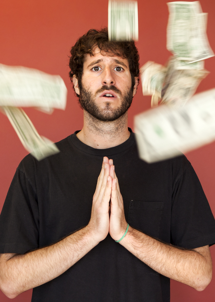 "Rapper Lil Dicky calls the success of his new music video ""unbelievable."""