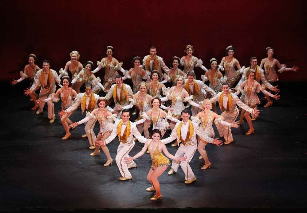 """The main focus of """"42nd Street"""" has always been tapping feet."""
