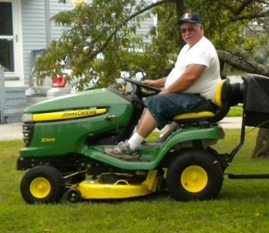 Gene Swanson was known around South Portland's Willard Square for his work repairing lawnmowers.