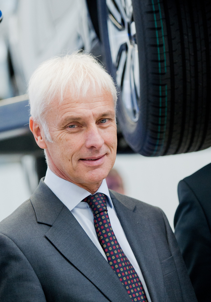 Volkswagen CEO Matthias Mueller says the company must become more efficient and disciplined.