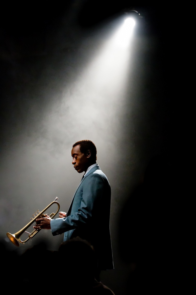 "Don Cheadle as Miles Davis in ""Miles Ahead."""