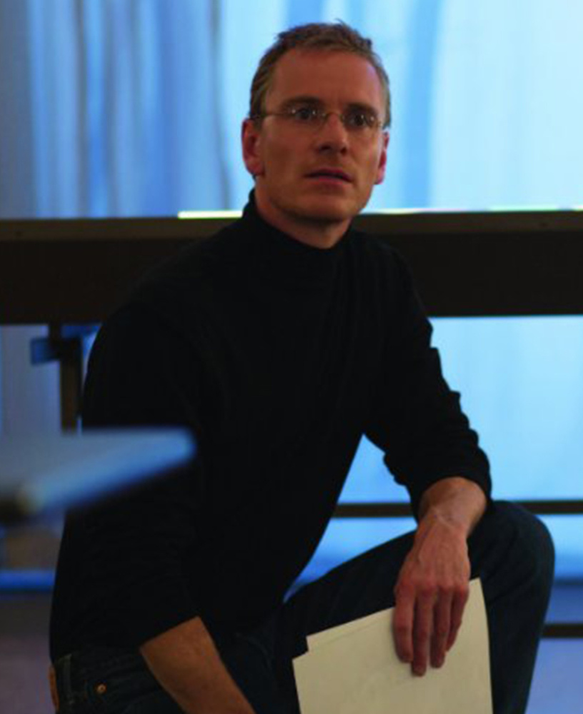 "Michael Fassbender plays the title role in ""Steve Jobs."""