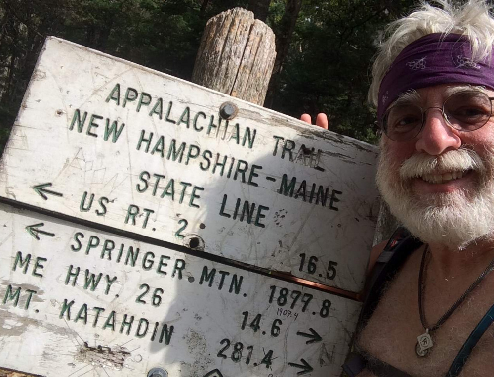 With Springer Mountain almost 1,900 miles behind him, a weathered Carey Kish has just over 281 miles to go before he reaches Mt. Katahdin.