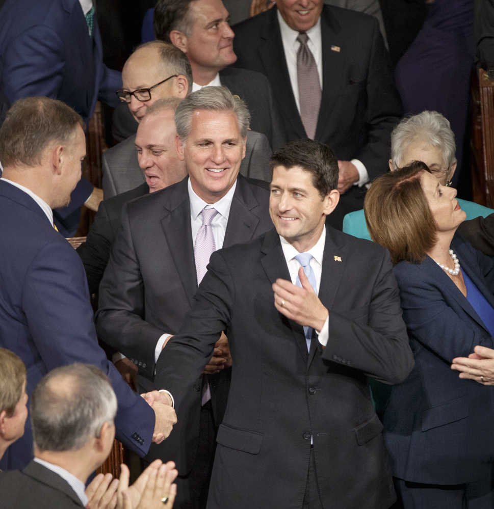 House Speaker Paul Ryan is charged with finding funding legislation that can pass the House and Senate. But that could be tough, as conservatives might want to strip money for Planned Parenthood or contentious programs.