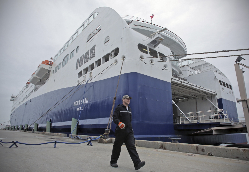 The Portland Pilots told a federal court that it hasn't been paid for piloting the Nova Star since Aug. 17.