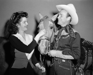Roy Rogers, the star of Madison Square Garden's rodeo in New York shown Oct. 7, 1943. The Associated Press