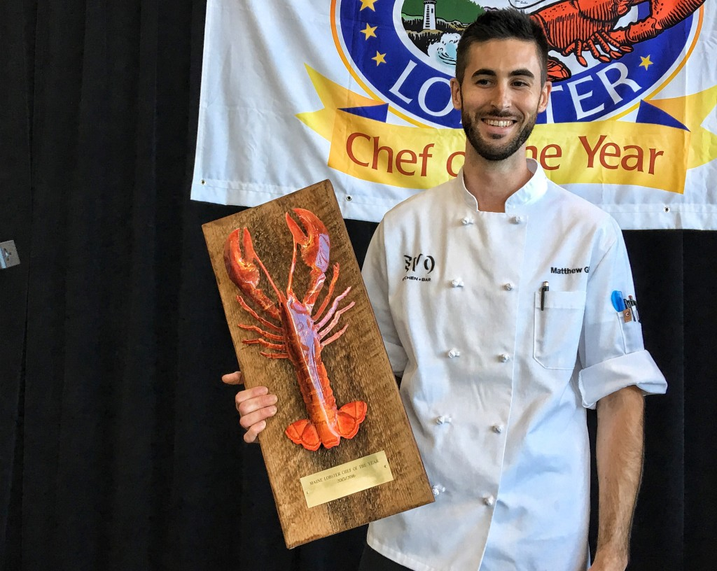 Chef Matt Ginn of Evo in Portland is the 2015 Maine Lobster Chef of the Year - The Portland ...