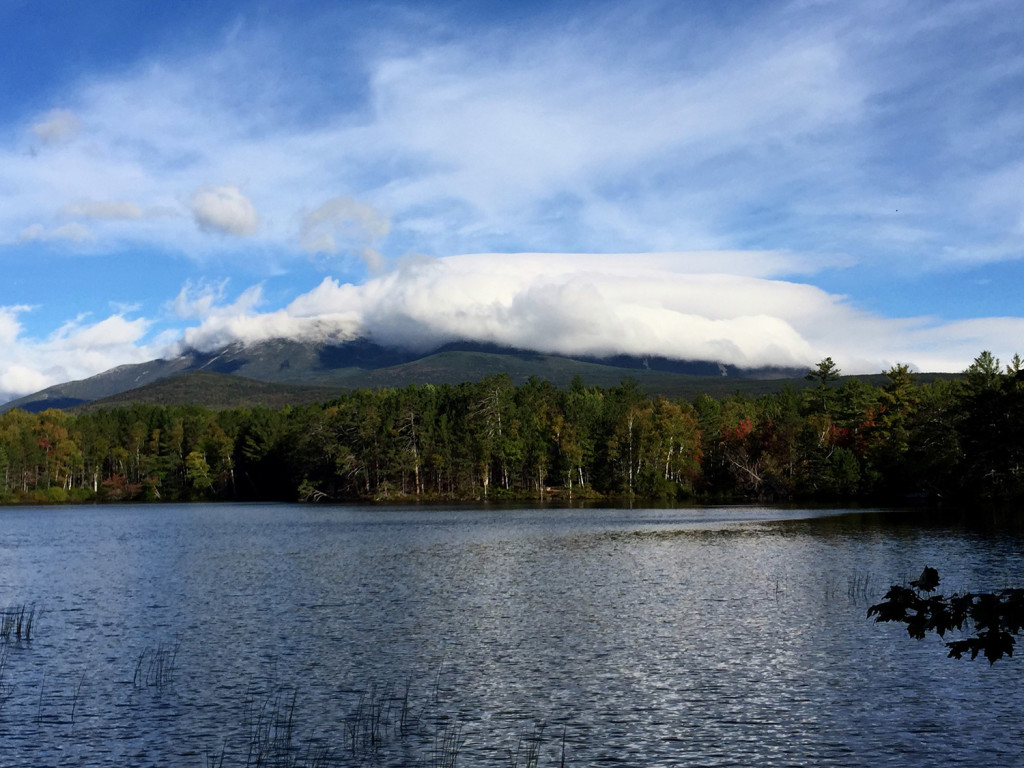 "With temperatures in the teens, Mount Katahdin's summit was enveloped in clouds early Friday morning, but that didn't stop numerous Appalachian Trail ""thru-hikers"" from completing their hikes. The growing number of thru-hikers, and unruly behavior by a small number of them, has Baxter State Park officials concerned."