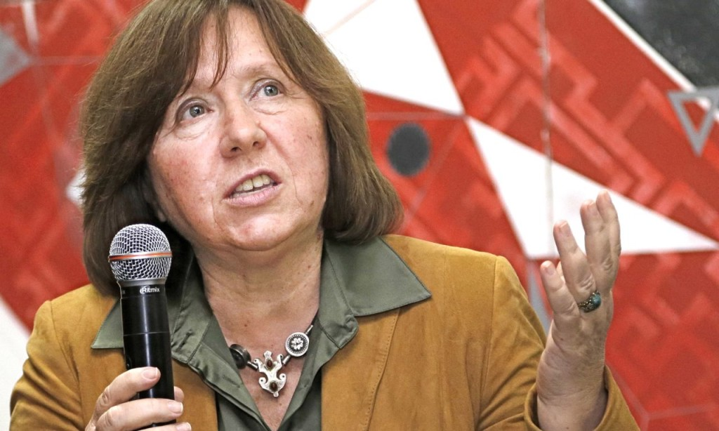 Svetlana Alexievich's books have been published in 19 countries. She also has written three plays and the screenplays for 21 documentary films. The Associated Press