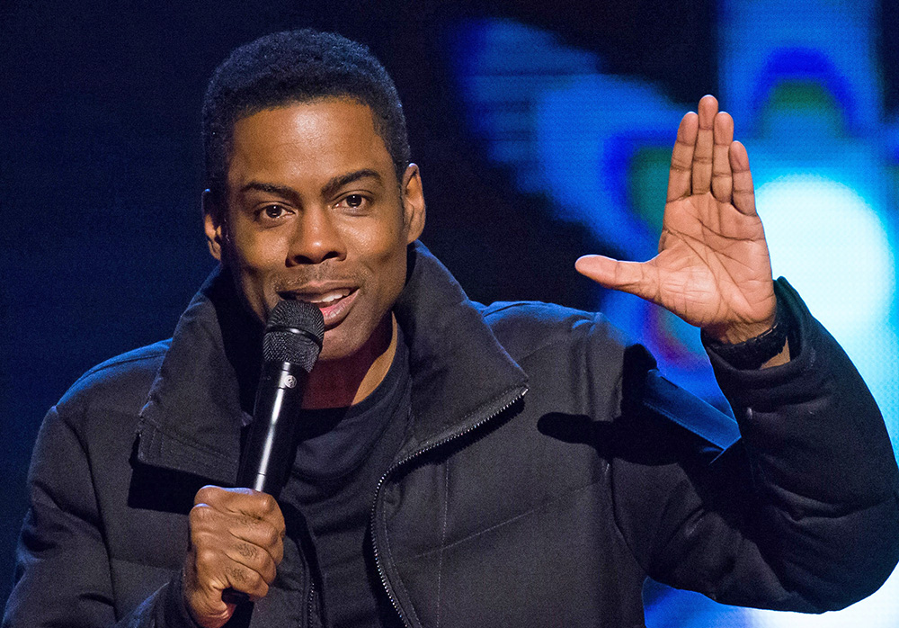 Comedian Chris Rock in a Feb. 28, 2015, photo. The Associated Press