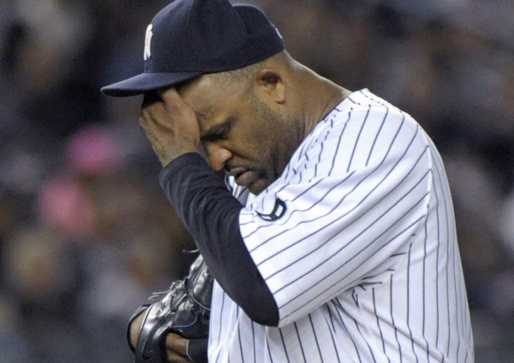 New York Yankees pitcher CC Sabathia  announced Oct. 5 that he was entering an alcohol rehab program. The Associated Press