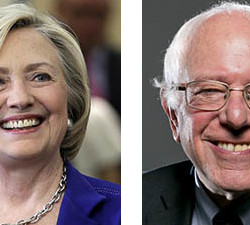 Former Secretary of State Hillary Rodham Clinton and U.S. Sen. Bernie Sanders of Vermont are among the contenders for the Democratic presidential nomination.