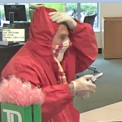 This man robbed the TD Bank at 1410 Congress St. on Oct. 3. Police say the same man robbed a Bangor Savings Bank branch.