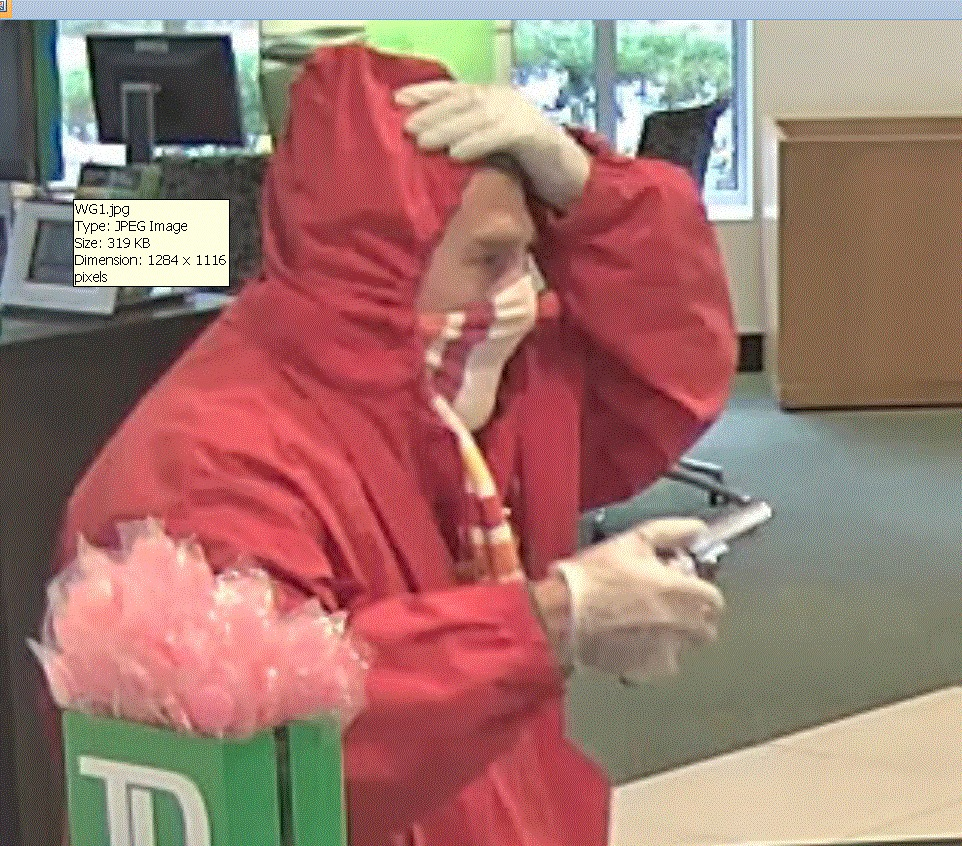 This man robbed the TD Bank at 1410 Congress St. on Oct. 3 and a Bangor Savings Bank branch on Oct. 12. Francis J. Ready of Portland pleaded guilty Thursday to both robberies.