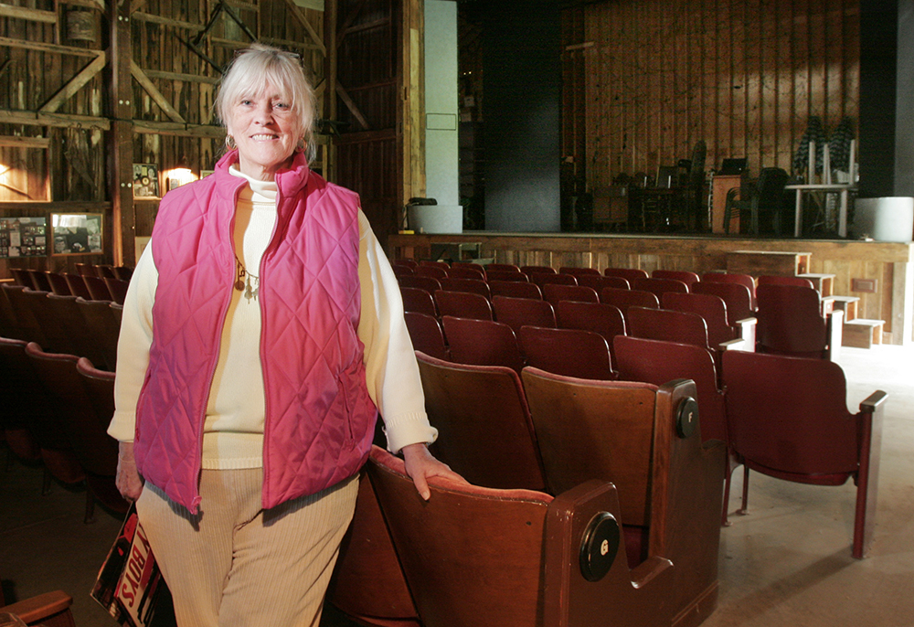 Adrienne Grant was about to start her ninth season at the Arundel Barn Playhouse when she posed for this 2006 photo. Gregory Rec / Staff Photographer